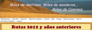rutas 2012