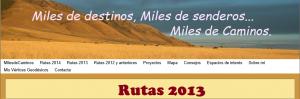 rutas 2013